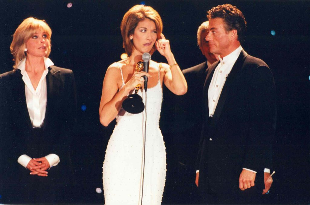 Bo Derek, Celine Dion, Jean-Claude Van Damme, Tony Bennett
