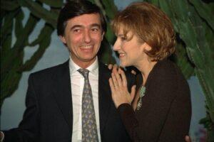 Philippe Douste-Blazy, Céline Dion (© Jean Pierre Amet / CORBIS)