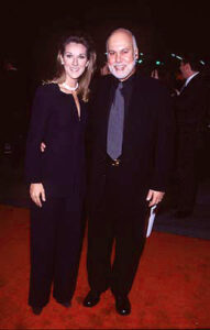 Céline Dion and her husband Rene Angelil at the premiere of Paramount's Titanic (© Steve Granitz/Wireimage)