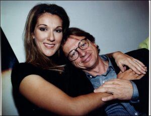 Céline Dion & Georges-Hébert Germain (© Photo Rémi Lemée, archives La Presse)