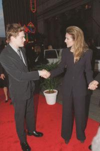 Céline Dion & Leonardo DiCaprio (© Maxppp)