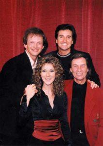 André-Philippe Gagnon, Céline Dion, René Simard, Jean-Pierre Ferland (© ADISQ)