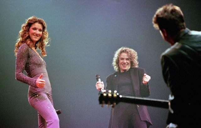 Céline Dion, Carole King, Andre Coutu (© POULIN PIERRE PAUL/CORBIS SYGMA)