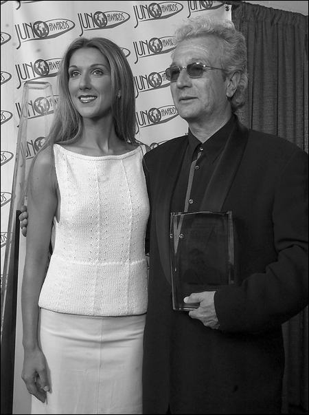 Céline Dion & Luc Plamondon (© Photo PC)