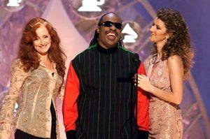 Céline Dion, Bonnie Raitt & Stevie Wonder (© Dave Hogan/ImageDirect)