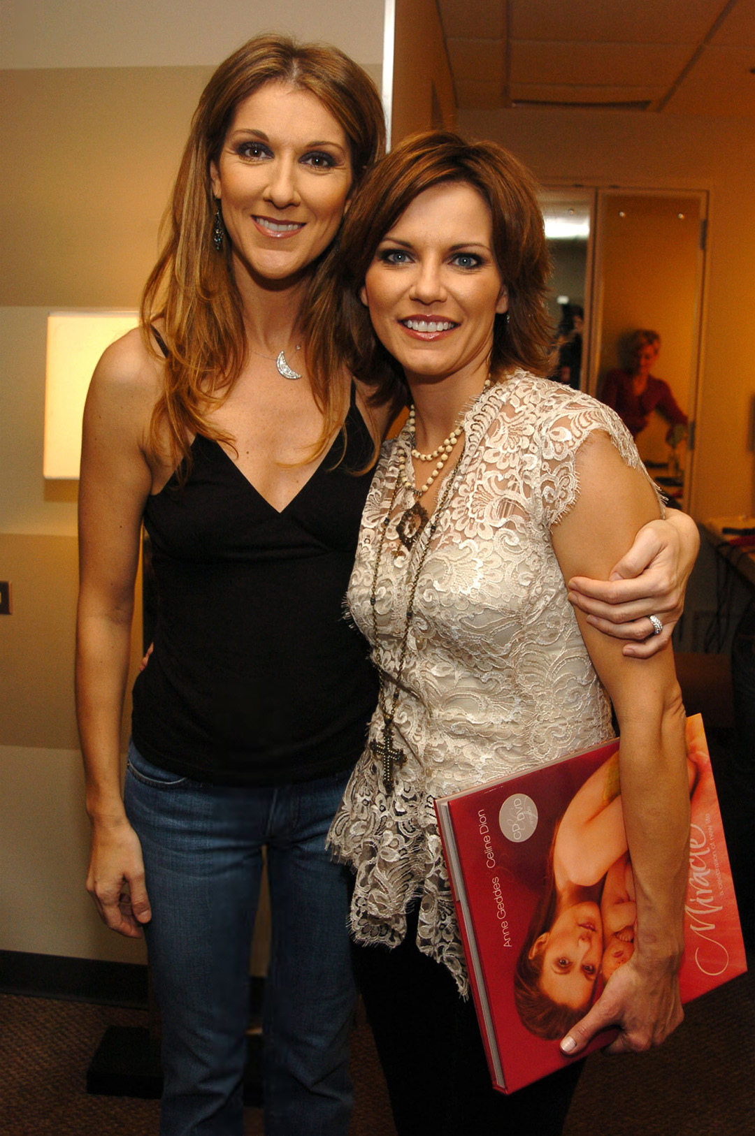 Céline Dion, Martina McBride (Photo by Theo Wargo/WireImage for Clear Channel Entertainment)