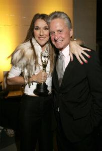 Céline Dion, Michael Douglas (Photo by KMazur/WireImage for ABC Television Network)