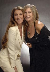 Céline Dion, Barbra Streisand (© WireImage/Kevin Mazur)