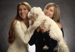 Céline Dion, Barbra Streisand (© Getty)