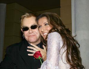 Céline Dion & Elton John (© Business Wire)