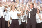 Céline Dion & Johnny Hallyday (© Michel Marizy)