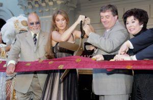 René Angélil, Céline Dion, Gary Loveman, Lorraine T. Hunt (© Getty Images Entertainment/Ethan Miller)