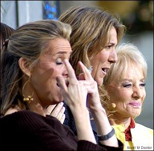 ..., Céline Dion, Barbara Walters (© TotalVegasTV.com)
