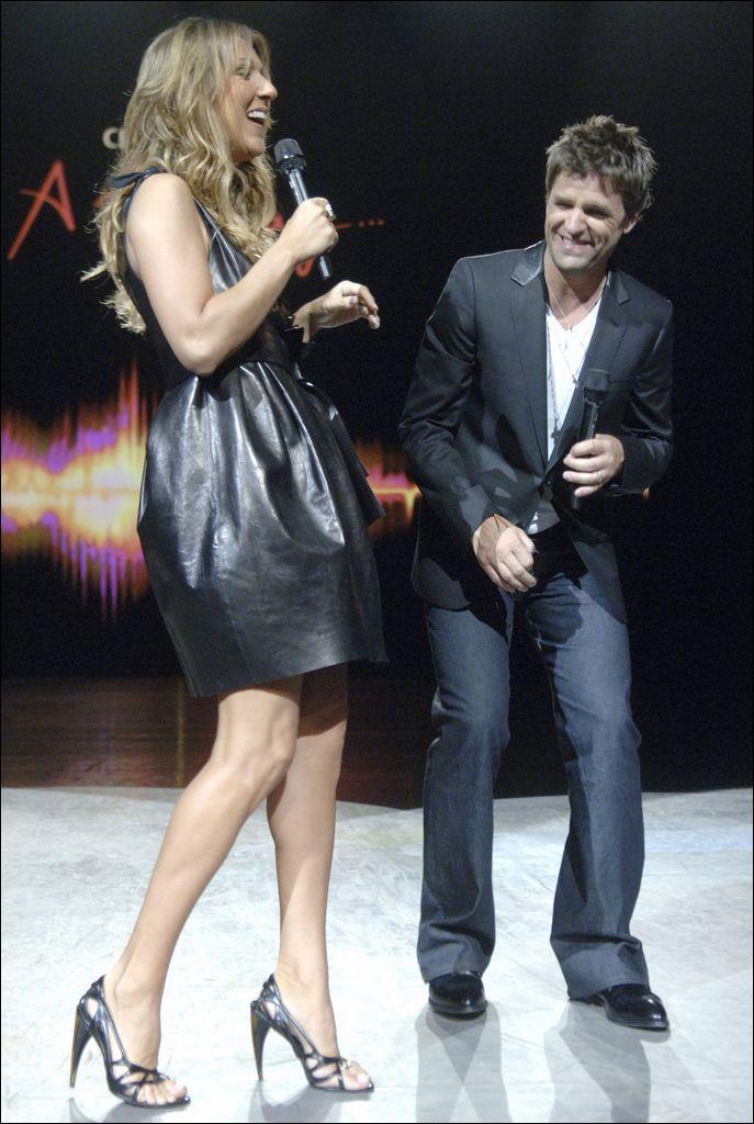 Céline Dion, Marc Dupre (© La Presse/Bernard Brault)