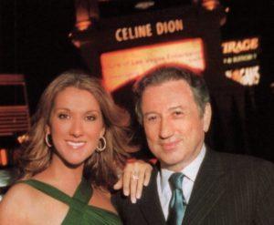 Céline Dion & Michel Drucker (© TV Magazine/Gérard Schachmes)
