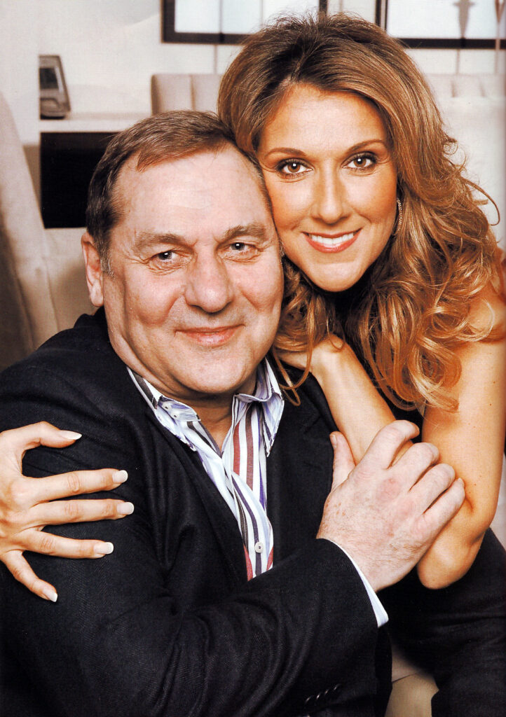 Céline Dion & Michel Jasmin (© Bruno Petrozza)