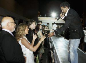 Céline Dion, Rene Angelil, Shaggy (© Ethan Miller/Getty Images Entertainment)