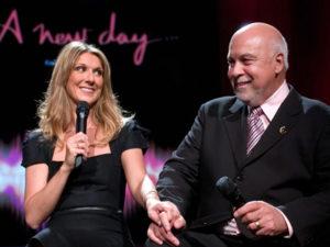 Céline Dion & Rene Angelil (© Martin Bouffard)