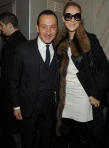 Gilles Mendel, Céline Dion (© Dimitrios Kambouris/WireImage)