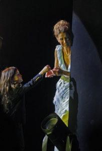 René-Charles, Céline Dion (© Jane Kalinowsky/Review-Journal)
