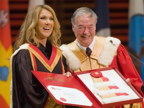 Céline Dion, Denis Brière (© Clément Allard/Canadian Press)