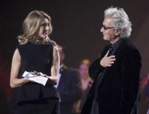 Céline Dion, Luc Plamondon (© La Presse, Robert Skinner)