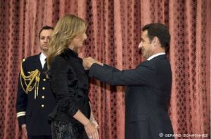Céline Dion, Nicolas Sarkozy (© Gérard Schachmes)