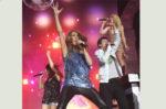 Céline Dion, Zazie, Jean-Baptiste Maunier, Lorie performing 'Luxor' (© TF1© Etienne Chognard)