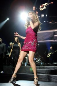 Elise Duguay, Céline Dion (© Clasos.com/ Splash News)