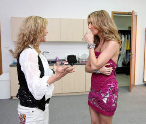 Lenka Filipová, Céline Dion (© Tomáš Martínek)
