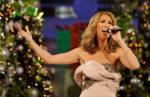 "Céline Dion performing ""O Come All Ye Faithful"" (© Photo by Matt Stroshane/Disney via Getty Images)"