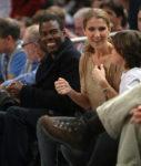 Chris Rock, Céline Dion, René-Charles Angélil (© Nick Laham/Getty Images North America)