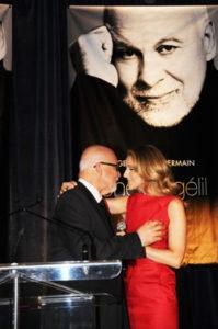 René Angélil, Céline Dion (© Bernard Bujold)