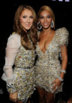 Céline Dion, Beyoncé Knowles (© Larry Busacca/Getty Images North America)