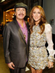 Céline Dion, Carlos Santana (© Christopher Polk/Getty Images North America)