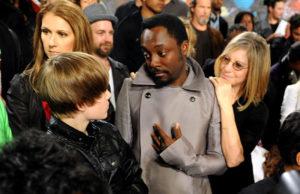 Céline Dion, Justin Bieber, Will.I.Am, Barbra Streisand (© Kevin Mazur/ WireImage)