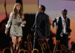 Céline Dion, Smokey Robinson, Usher (© Kevin Winter/Getty Images North America)