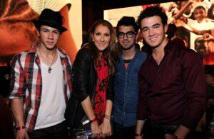 Céline Dion, The Jonas Brothers (Nick Jonas, Joe Jonas, Kevin Jonas)
