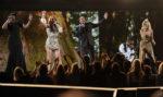 Jennifer Hudson, Céline Dion, Smokey Robinson, Usher, Carrie Underwood (© Kevin Winter/Getty Images North America)