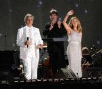 Andrea Bocelli, Céline Dion (© Jason Kempin/Getty Images North America)