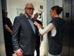 René Angélil, Michel Dion, Céline Dion (© Robert Hanashiro, USA TODAY)