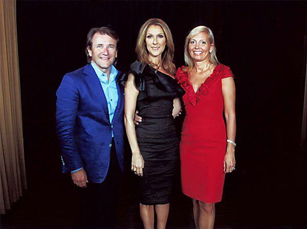 Robert Herjavec, Céline Dion, Diane (© Robert Herjavec)