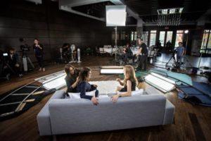 Annie Horth, Céline Dion, Daniela Lumbroso (©Olivier Samson Arcand / Osa)