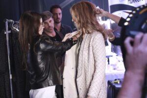 Annie Horth, Céline Dion (© Productions J)