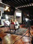Beverly Thomson, Céline Dion (© Trish Bradley/Canada AM)