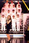 Céline Dion, Les Petits Chanteurs d'Asnières (© B. Carayon)
