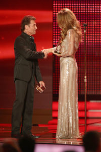 Céline Dion, Peter Maffay (© Andreas Rentz/Getty Images Europe)
