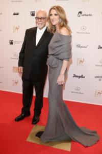 Céline Dion, René Angélil (© Andreas Rentz/Getty Images Europe)