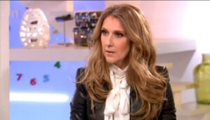 Céline Dion was invited in the television show 'C à vous' hosted by Alessandra Sublet on the French channel France 5 (© Pluzz)