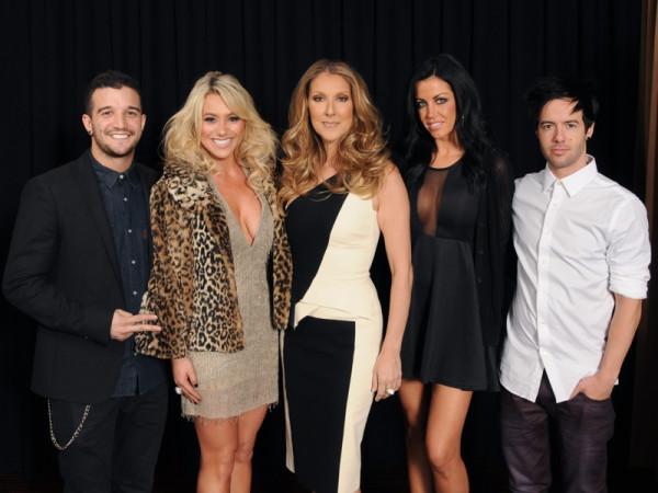 Mark Ballas, BC Jean, Céline Dion, Carlene K, Travis Garland (© Mark Ballas)